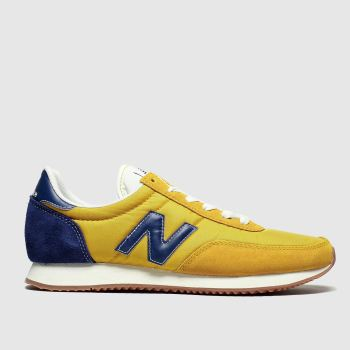 New Balance Blue & Yellow 720 V1 Womens Trainers#