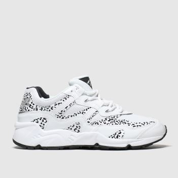 New Balance White & Black 850 Trainers