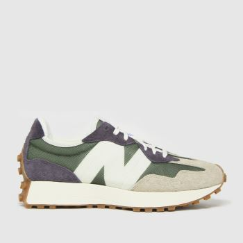 New balance Khaki Nb 327 Womens Trainers