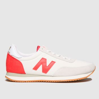 New balance Beige & Red 720 Womens Trainers