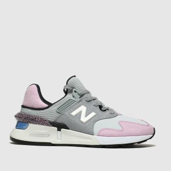 new balance light grey 997 trainers