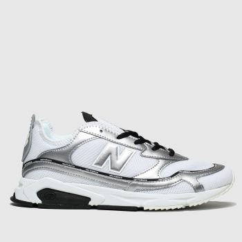 New Balance Silver & Black Xrc Womens Trainers