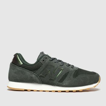 New Balance Khaki 373 Womens Trainers