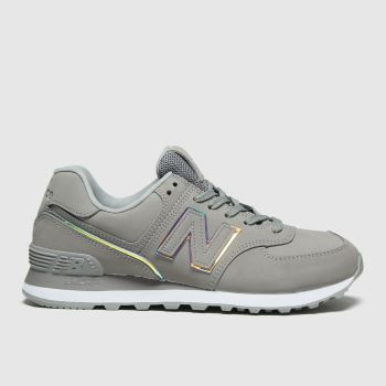 New balance Grey 574 Womens Trainers