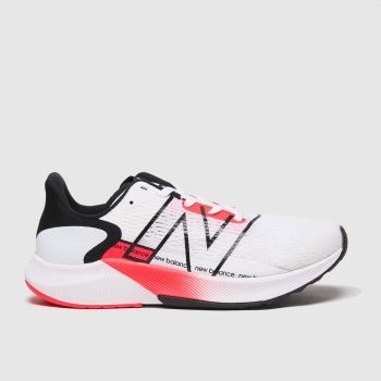 New balance White & Red Fuelcell Propel V2 Womens Trainers