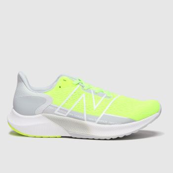 New balance White & Green Fuelcell Propel V2 Womens Trainers
