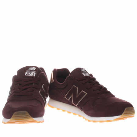 big sale dea8f a92d3 burgundy new balance size 6