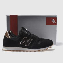 new balance 373 women's black gold