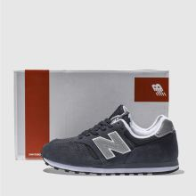new balance navy silver