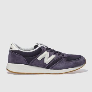 big sale f6417 07921 NEW BALANCE PURPLE 420 REV-LITE TRAINERS
