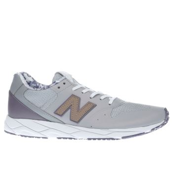NEW BALANCE GREY 96 REVLITE TRAINERS