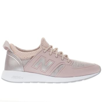 New Balance Pink 420 Revlite Slip-On Womens Trainers