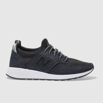New Balance Black & Navy  420 REVLITE SLIP-ON Trainers