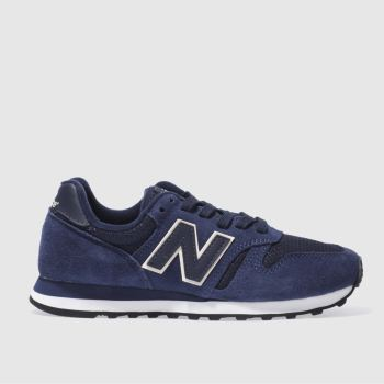 New Balance Navy 373 Womens Trainers