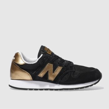 New Balance Black & Bronze 520 S Trainers