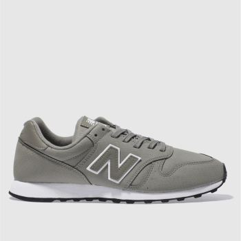 NEW BALANCE GREY 373 V1 SNAKE TRAINERS