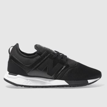 New Balance Black 247 Classic Womens Trainers
