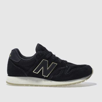 New Balance Black 520 Suede Womens Trainers