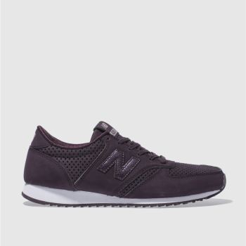New Balance Purple 420 Womens Trainers