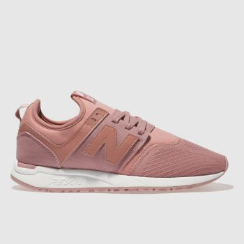 New Balance Pink 247 Classic Womens Trainers