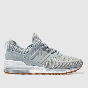 New Balance Blue 574 V Womens Trainers