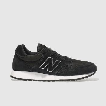 New Balance Black & Silver 520 R METALLIC Trainers