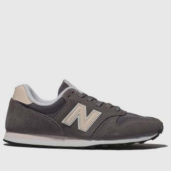 New Balance Lilac 373 V1 Suede Womens Trainers
