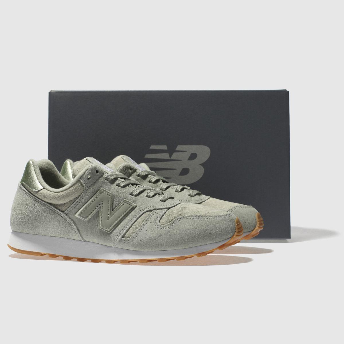 Damen Hellgrün Sneaker new balance 373 Suede Sneaker Hellgrün | schuh Gute Qualität beliebte Schuhe 59761f