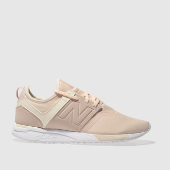 New Balance Pink 247 V1 Jersey Womens Trainers