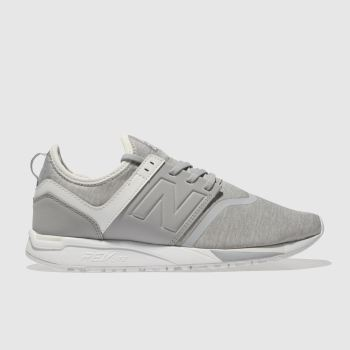 New Balance Grey 247 V1 Jersey Womens Trainers