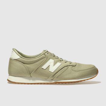 New Balance Khaki 420 V1 Canvas Womens Trainers