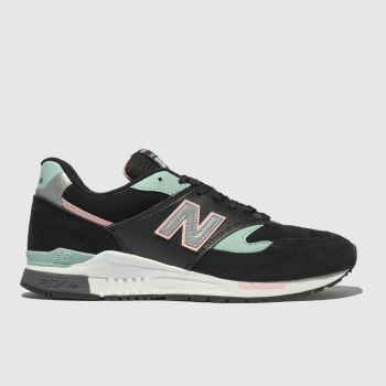 New Balance Black & pink 840 V1 Womens Trainers