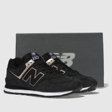 womens black and gold new balance