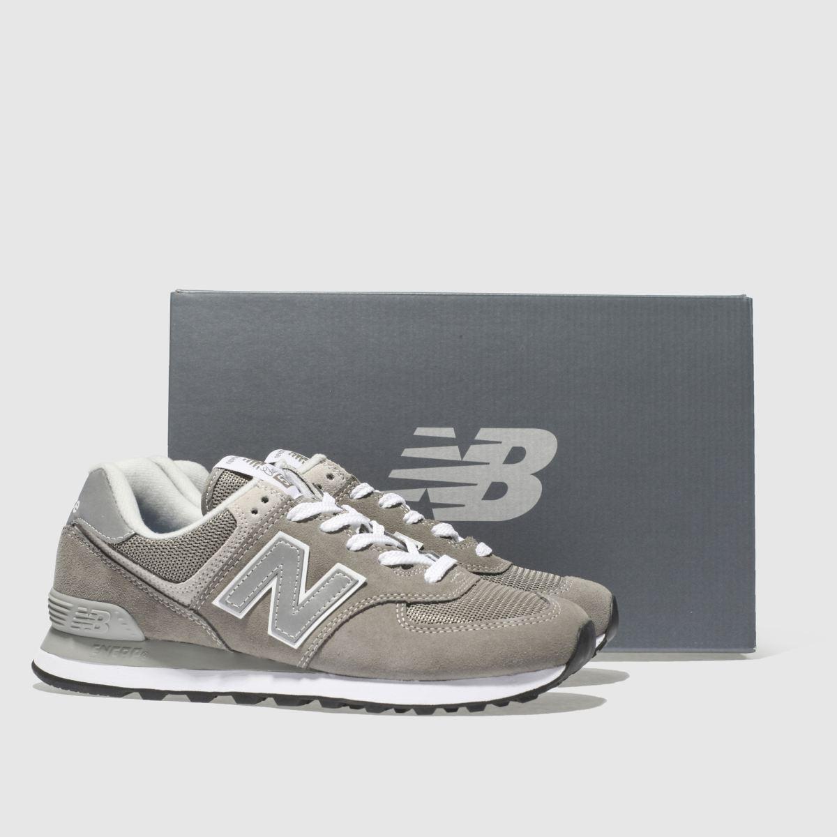 Damen Grau new balance 574 schuh V2 Suede Sneaker | schuh 574 Gute Qualität beliebte Schuhe 3b2910