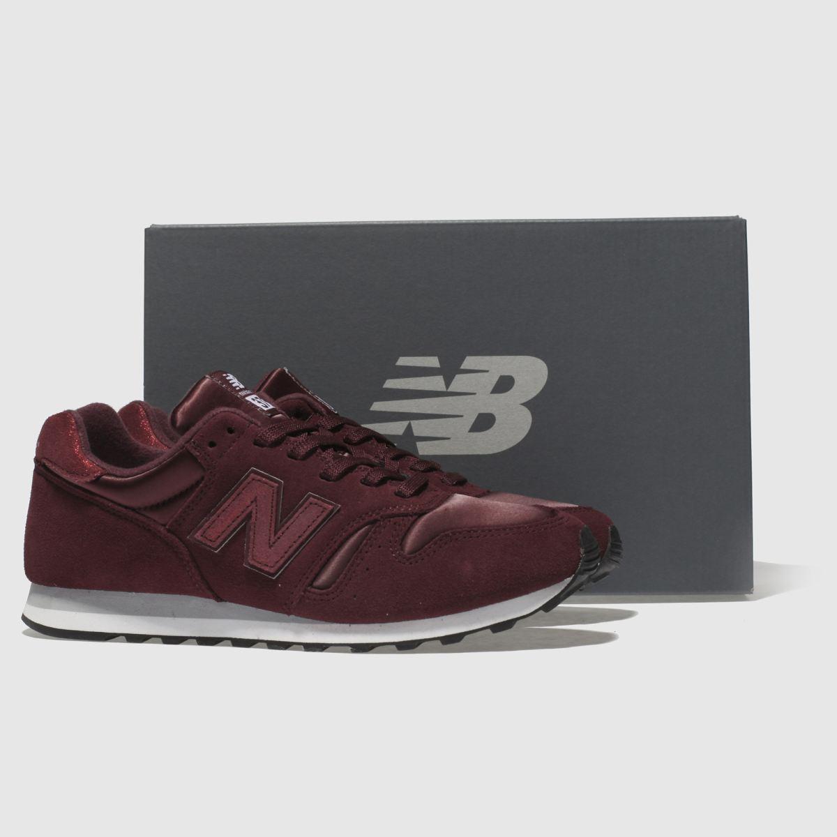 Damen Weinrot new balance 373 V1 Shimmer Sneaker   Schuhe schuh Gute Qualität beliebte Schuhe   4b282d