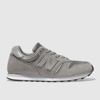 New Balance Grey 373 V1 Shimmer Womens Trainers