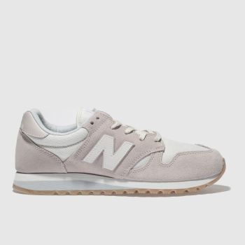 New Balance Pale Pink 520 V2 Suede Womens Trainers