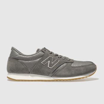 New Balance Grey 420 V1 PRINT Trainers