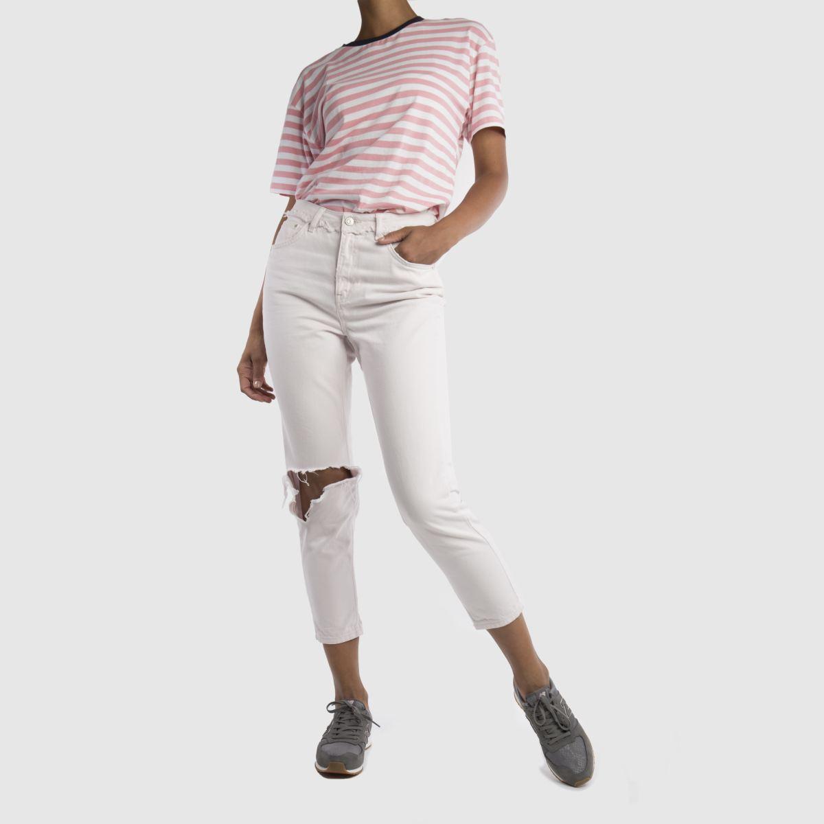 Damen Grau new balance 420 V1 Print Sneaker | schuh Gute Qualität beliebte Schuhe