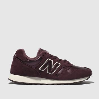 New Balance Burgundy 373 V1 Trainers