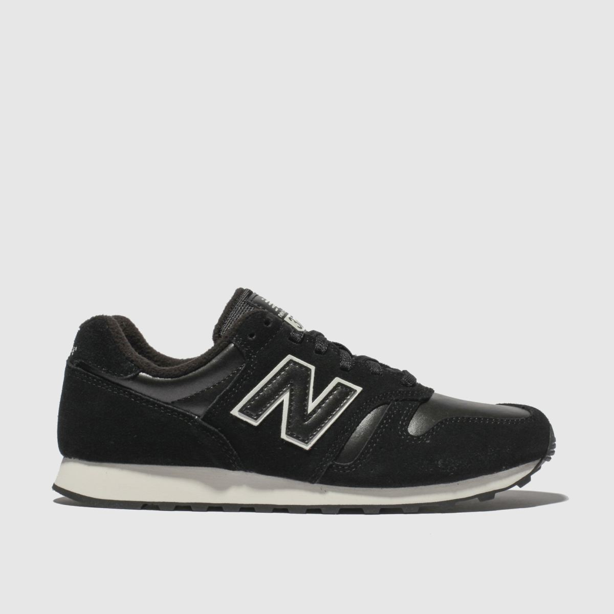 90970f089772 New Balance Black   White 373 V1 Trainers - Schuh at Westquay - Shop Online