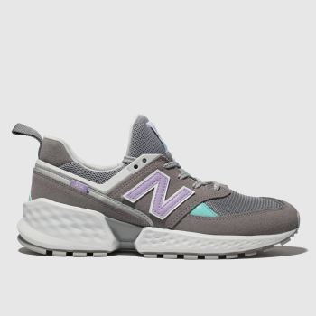 New Balance Grey 574 SPORT V2 Trainers