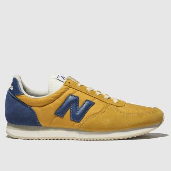 New Balance Yellow 220 Womens Trainers