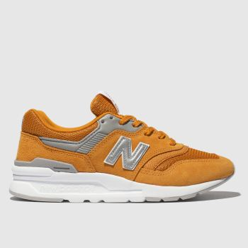 New Balance Orange 997 Womens Trainers