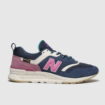 new balance navy & grey 997 trainers