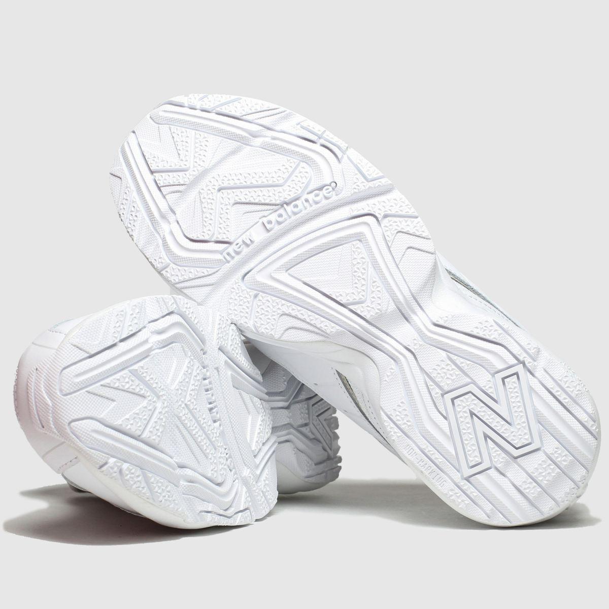 680cbd9247bf8 womens white & grey new balance 452 trainers   schuh