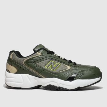 New Balance Khaki 452 Womens Trainers