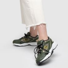 92d8e8592dc7c womens khaki new balance 452 trainers   schuh