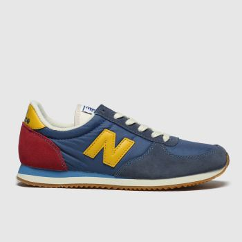 new balance navy & red 220 trainers