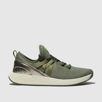 Under Armour Khaki Breathe Womens Trainers